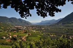 Tiroolse vallei Stock Fotografie