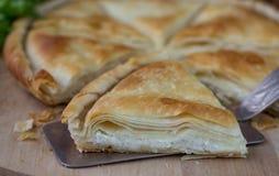 Free Tiropita - Greek Pie Made Of Filo Dough With Cheese Royalty Free Stock Photos - 50508808