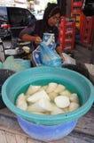 Tiros de bambu Fotografia de Stock