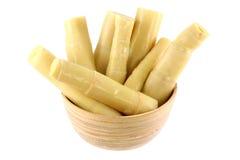 Tiros de bambu conservados Imagem de Stock Royalty Free