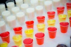 Tiros de Jello foto de stock royalty free