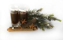 Tiros de la Navidad con la Navidad decoraciones el 14 de noviembre de 2014 Imagenes de archivo