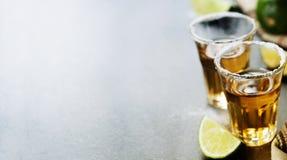 Tiros del Tequila fotos de archivo
