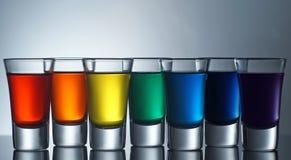 Tiros do arco-íris Fotos de Stock Royalty Free