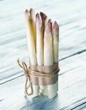 Tiros do aspargo branco Imagem de Stock Royalty Free