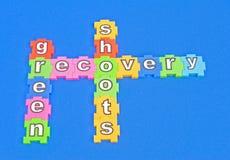 Tiros do verde da recuperação. Imagem de Stock