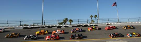 Tiroteio NASCAR de Budweiser Imagens de Stock Royalty Free