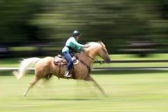 Tiroteo de Mounted del vaquero Fotos de archivo