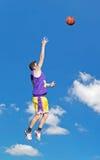 Tiroteo en el cielo Fotografía de archivo