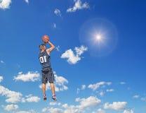 Tiroteo en el sol Foto de archivo