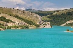 Tirquoise Klinje lake. Beautiful tirquoise lake Klinje, Bosnia and Herzegovina Royalty Free Stock Image