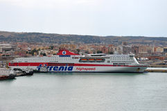 Tirrenia ferry Stock Photo