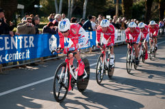Tirreno Adriatica 2011 Royalty Free Stock Image