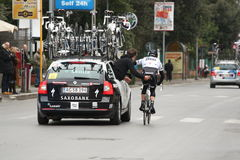 Tirreno Adriatico Royalty Free Stock Photography