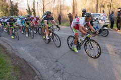 Tirreno Adriatico 2012, second stage Royalty Free Stock Images