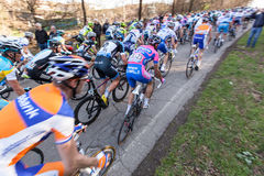 Tirreno Adriatico 2012, second stage Stock Image