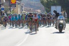 Tirreno Adriatico 2012, seconda tappa Immagine Stock Libera da Diritti