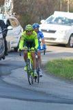Tirreno Adriatico 2012, seconda tappa Fotografia Stock Libera da Diritti