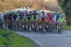 Tirreno Adriatico 2012, seconda tappa Fotografie Stock Libere da Diritti