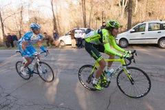 Tirreno Adriatico 2012, seconde étape Photos stock