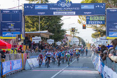 Tirreno Adriatico 2012, tweede stadium Royalty-vrije Stock Fotografie