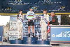 Tirreno Adriatico 2012, zweite Etappe Stockbild