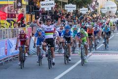 Tirreno Adriatico 2012, zweite Etappe lizenzfreies stockfoto