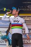 Tirreno Adriatico 2012, zweite Etappe Stockbilder