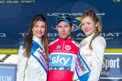 Tirreno Adriatico 2012, zweite Etappe Stockfotografie