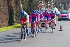 Tirreno Adriatico, erste Phase Lizenzfreie Stockbilder
