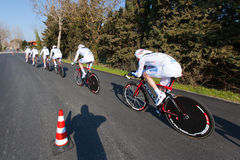 Tirreno Adriatico, first stage Stock Image