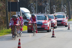 Tirreno Adriatico, first stage Royalty Free Stock Photo