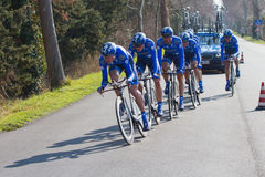 Tirreno Adriatico, first stage Stock Images