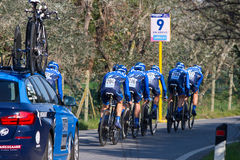 Tirreno Adriatico, first stage Stock Photo