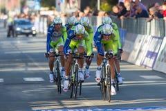 Tirreno Adriatico, first stage Royalty Free Stock Photo