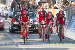 Tirreno Adriatico, first stage Stock Photography
