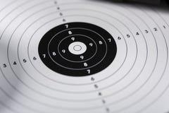 Tirs, boucliers et cartouches - position de tir sur le sport s Photos libres de droits