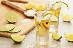 Tirs de tequila photo libre de droits