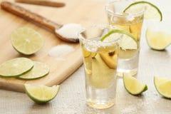 Tirs de tequila image libre de droits