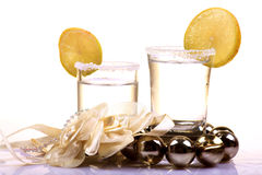 Tirs de tequila photographie stock