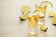 Tirs de tequila photos libres de droits