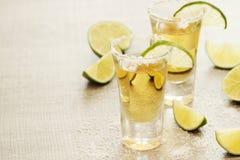 Tirs de tequila photo stock