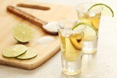 Tirs de tequila image stock