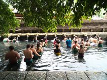 Tirta Empul świątynia, Bali Obraz Royalty Free