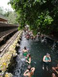 Tirta Empul świątynia, Bali Fotografia Royalty Free