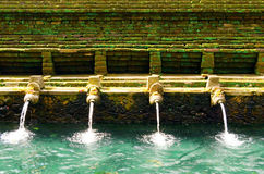 Tirta Empul Royalty Free Stock Photos