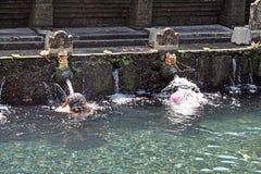 Tirta empul Bali Zdjęcie Stock