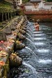 Tirta Empul holy water Stock Image