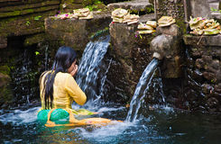 TIRTA EMPUL, INDONESIA Stock Image