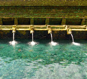 Tirta Empul springs Royalty Free Stock Photo